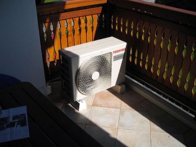 Klimatizace venkovní jednotka
