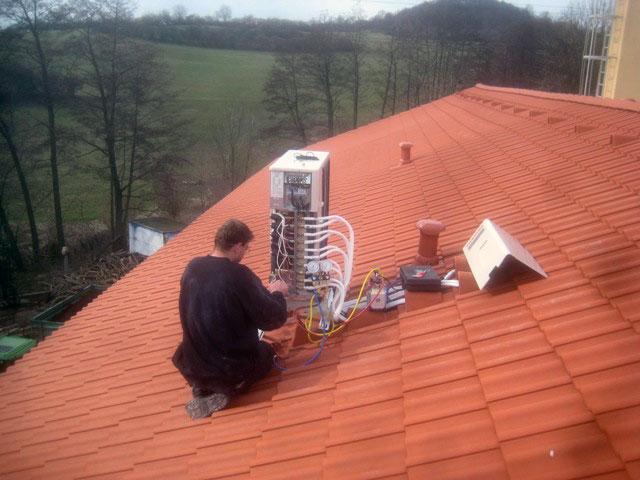 Instalalace klimatizace