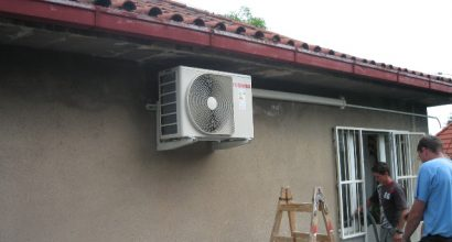 Instalace klimatizace Toshiba ordinace firmou Novoklima6