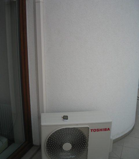 Klimatizace Toshiba ordinace+byt13