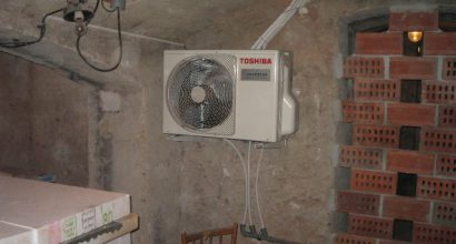 Klimatizace Toshiba ordinace+byt5